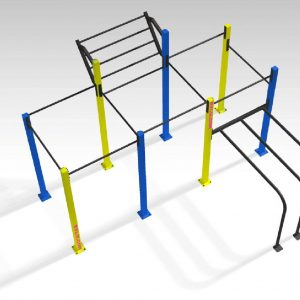 RVL13 PETUM - TRIPLE RACK + 2 DIP + WING